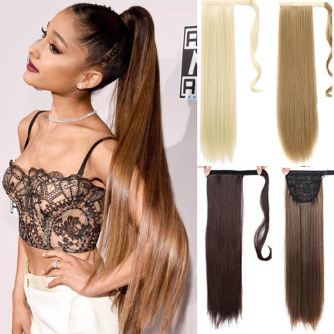 Hairpieces for Women Hair Extension High Temperature Fiber