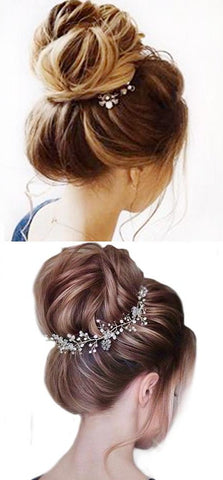 Synthetic Curly Elastic Rubber Band Chignon Messy Bun Donut Hairpieces for Women