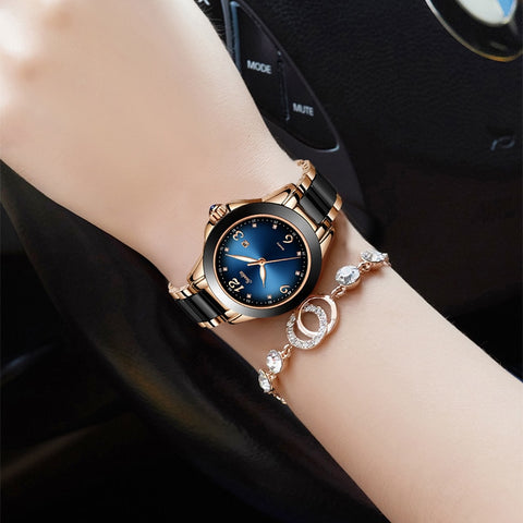 New Fashion Women Watches Rose Gold Ladies
