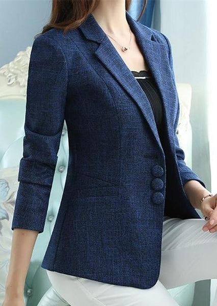 The New high quality Autumn Spring Women's Blazer Elegant