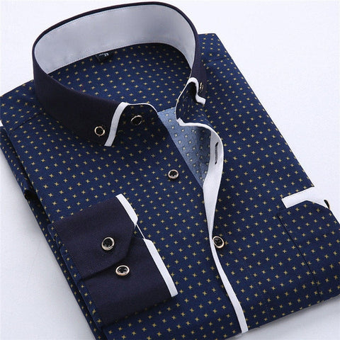 Casual Brand Men Dress Shirt New