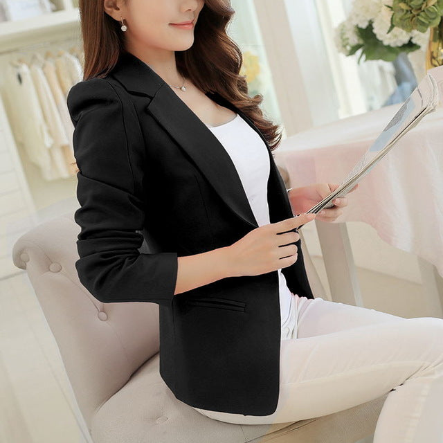 Women Blazers And Jackets Plus Size Work
