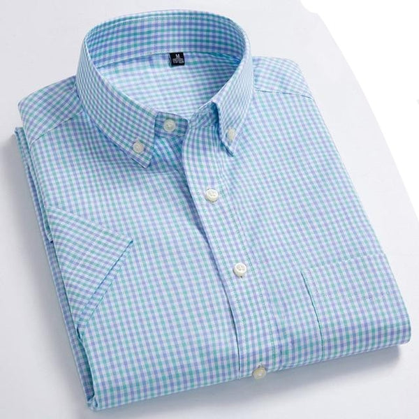 High Quality Men's Casual Shirts 100% Cotton
