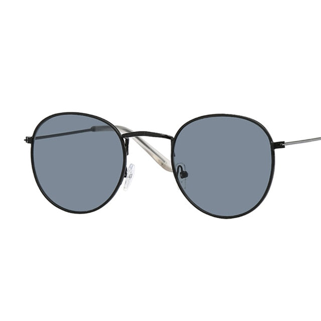 New Brand Designer Vintage Oval Sunglasses Women
