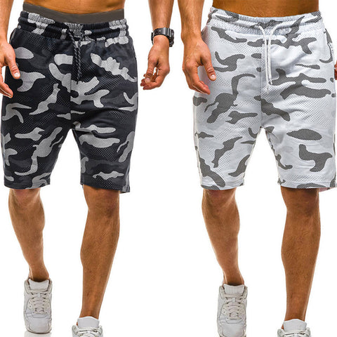 2020 New Men Camouflage Shorts Casual Male