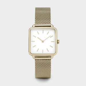 2020 New Stylish Gold Silver Quartz