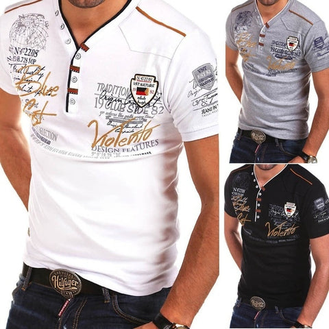 2020 Summer Men T Shirt Cotton Short