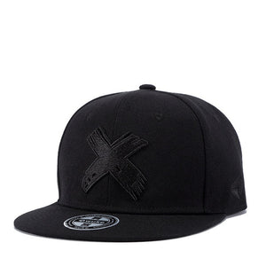 Snapback Men Women Hat Female Band Rock Baseball Flat Hats Fitted cap