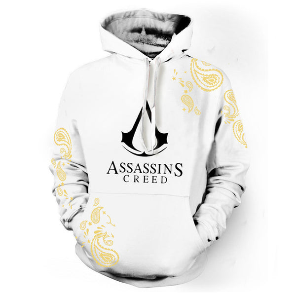 2020 Game Hoodies Assassin's Creed Fashion 3D