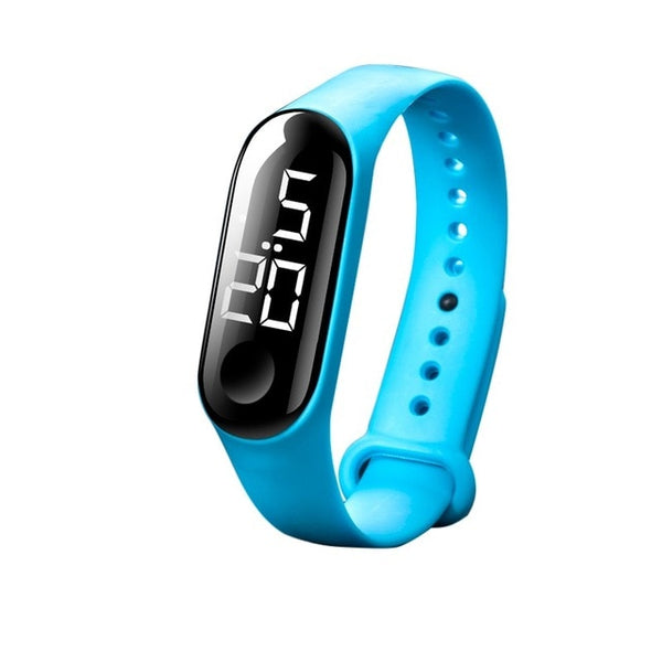 50M Waterproof Men Women Digital Watch LED Sport