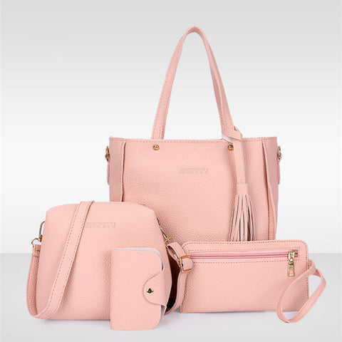 Women Top-Handle Bags Female Composite Bags  Women