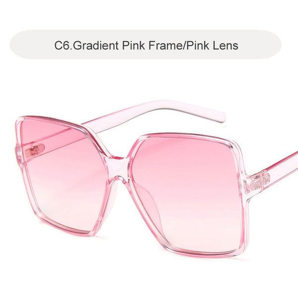 Sunglasses Women Luxury Brand Big Frame