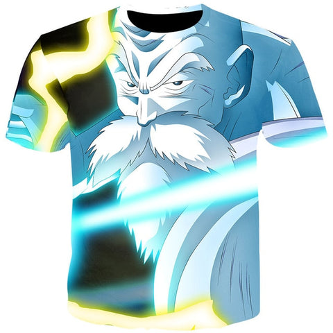 2020 Summer T Shirts Men Anime Print Dragon Ball