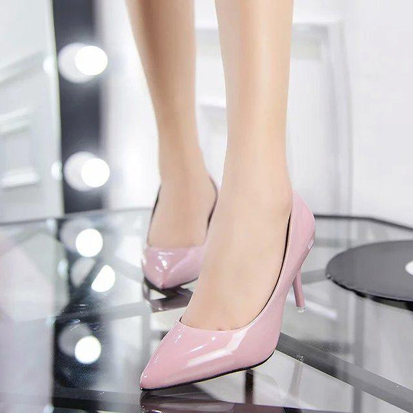 High Heels Woman Shoes Pointed Toe Dress