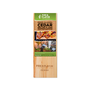 Buy Online High Quality Fire and Flavor Cedar Grilling Plank 15 in. - HighEndGrillers