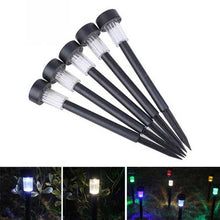 Buy Online High Quality Solar Powered Plastic LED Lawn Light Waterproof Outdoor Garden Landscape Yard Path Lamp - HighEndGrillers