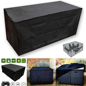 Buy Online High Quality OxbridgeBlack Waterproof Rattan Cube Outdoor Garden Patio Furniture Table Set Cover Protection - HighEndGrillers