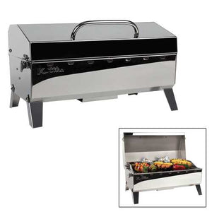 Buy Online High Quality Kuuma Stow N' Go 160 Gas Grill - 13000BTU w/Regulator Thermometer and Igniter - HighEndGrillers