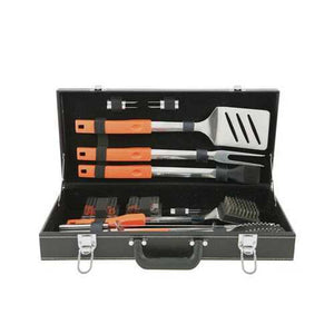 Buy Online High Quality Easy Grip 20 PC BBQ Set in Attache Case - HighEndGrillers