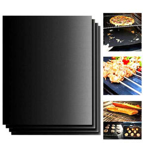 Buy Online High Quality 100x40cm Non-stick BBQ Grill Mat Barbecue Cake Baking Mats - HighEndGrillers