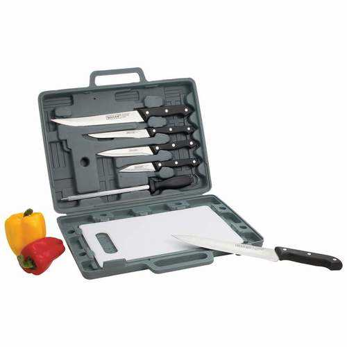 Buy Online High Quality Knife Set with Cutting Board - HighEndGrillers