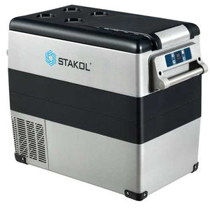 Buy Online High Quality 53 Quarts Portable Electric Car Cooler Refrigerator - HighEndGrillers