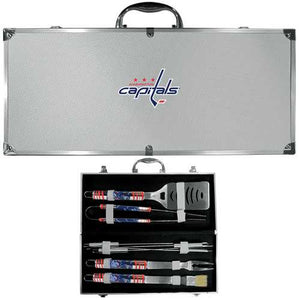 Buy Online High Quality Washington Capitals 8 pc Tailgater BBQ Set - HighEndGrillers
