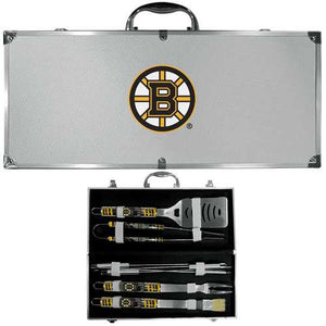 Buy Online High Quality Boston Bruins 8 pc Tailgater BBQ Set - HighEndGrillers