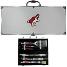 Buy Online High Quality Arizona Coyotes? 8 pc Tailgater BBQ Set - HighEndGrillers
