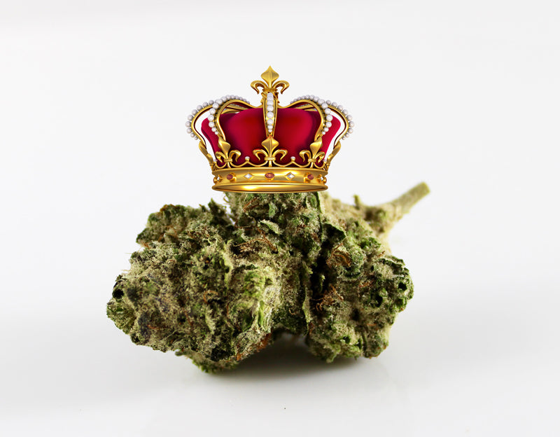 Royal weed flies off the shelves. UK's Queen is aiming high!