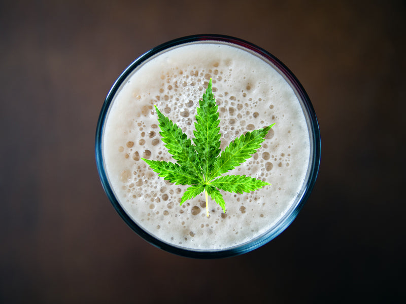 Cannabis innovation. Drink it!