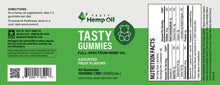 Load image into Gallery viewer, TASTY HEMP OIL Hemp Gummies