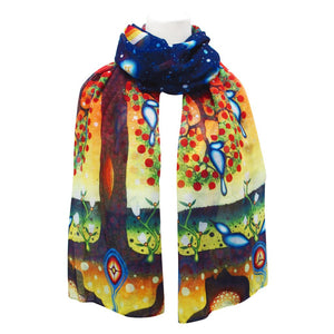 """Tree of Life"" Scarf"