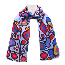 Load image into Gallery viewer, Norval Morrisseau Woodland Floral Scarf