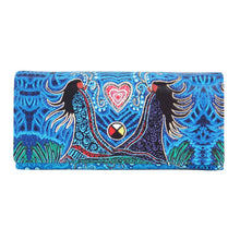 Load image into Gallery viewer, leah dorian breath of life wallet