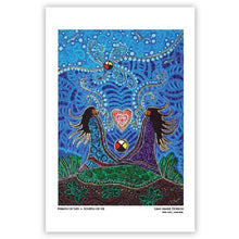 "Load image into Gallery viewer, Leah Dorion ""Breath of Life"" Art Card"