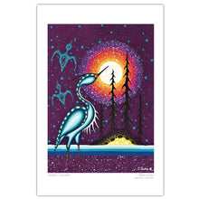 "Load image into Gallery viewer, James Jacko ""Crane"" Art Card"