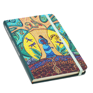 """Strong Earth Woman"" Hard Cover Journal"
