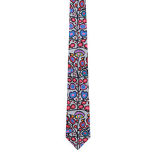 "Load image into Gallery viewer, ""Woodland Floral"" Silk Tie"