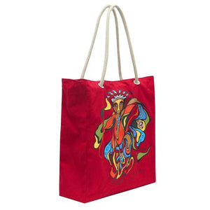"""Pow Wow Dancer"" Tote"