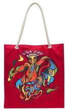 "Load image into Gallery viewer, ""Pow Wow Dancer"" Tote"