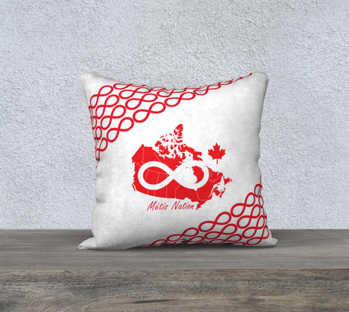 Metis Nation Pillow Case Home Decor