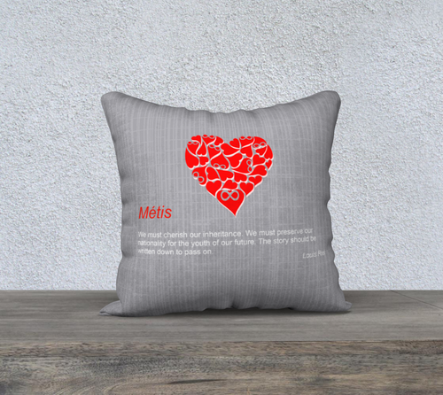 Metis theme pillow Case