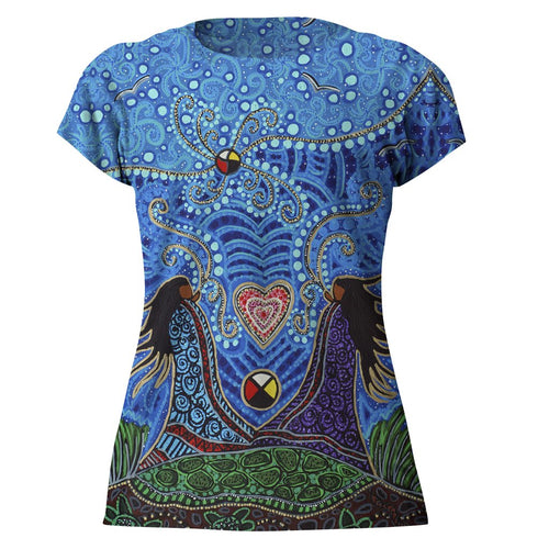 Breath of Life Tshirt Leah Dorian North of Fifty Metis Designs