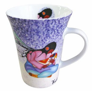 """Joyous Motherhood"" Porcelain Mug"