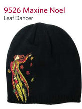"Load image into Gallery viewer, ""Leaf Dancer"" Embroidered Toque"