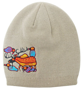 """Moose Harmony"" Embroidered Toque"