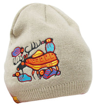 "Load image into Gallery viewer, ""Moose Harmony"" Embroidered Toque"