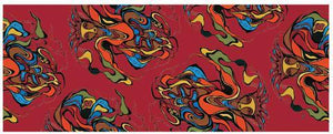 """Pow Wow Dancer""  Scarf"