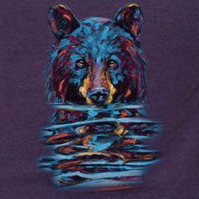 Load image into Gallery viewer, 'Bear Emerging from Water' Women's Fit Tshirt